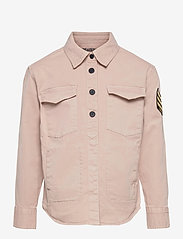 Zadig & Voltaire Kids - LONG SLEEVED OVERSHIRT - shirts - washed pink - 0
