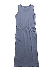 DRESS - SLATE BLUE
