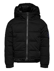 PUFFER JACKET - CHARCOAL GREY