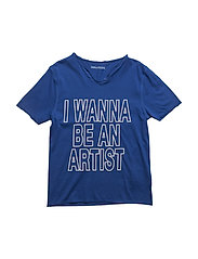 SHORT SLEEVES TEE-SHIRT - ELECTRIC BLUE