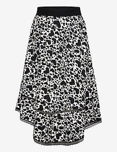 LONG SKIRT - skirts - off white  black
