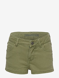 SHORT - szorty - khaki