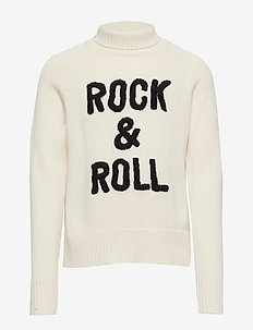 POLO NECK SWEATER OR JUMPER - SAND