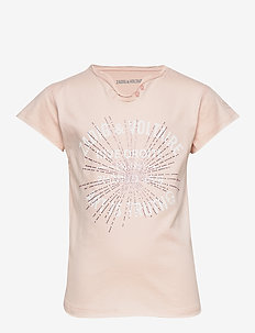SHORT SLEEVES TEE-SHIRT - krótki rękaw - pink  pale