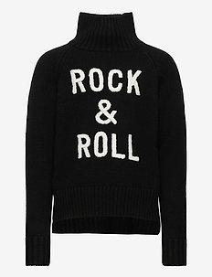 POLO NECK SWEATER OR JUMPER - trøjer - black
