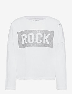 LONG SLEEVE T-SHIRT - pitkähihaiset paidat - white
