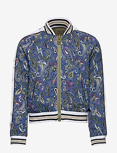 REVERSIBLE JACKET - bomber jackets - blue