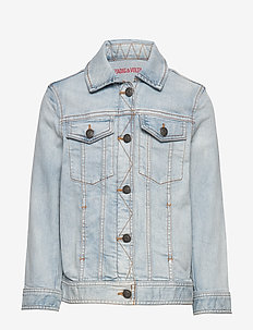 DENIM JACKET - STONE PULVERISATION