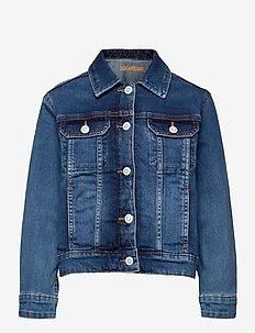 DENIM JACKET - jeansjacken - denim blue