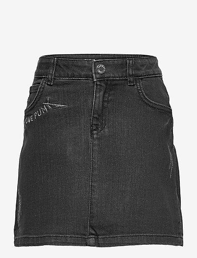 DENIM SKIRT - skirts - denim black