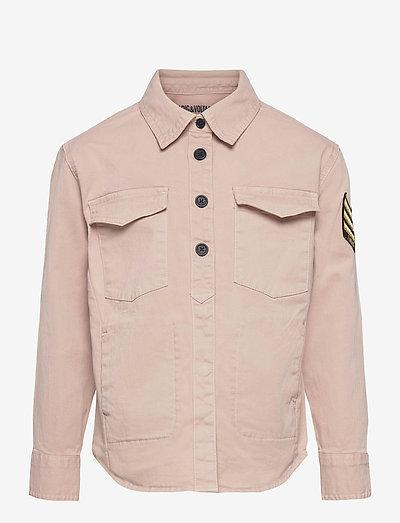 LONG SLEEVED OVERSHIRT - shirts - washed pink