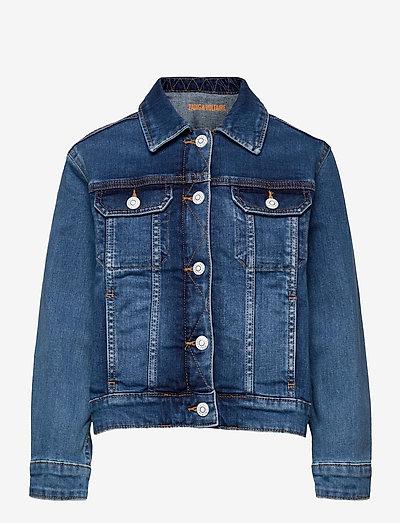 DENIM JACKET - denim jackets - denim blue