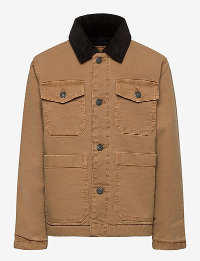 JACKET - denim jackets - chocolate brown