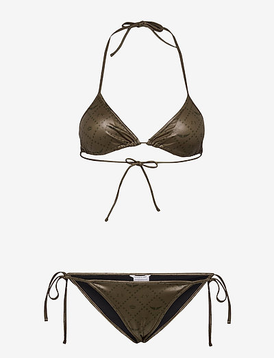ICONIC BLUEYS BIKINI - bikini sæt - kaki