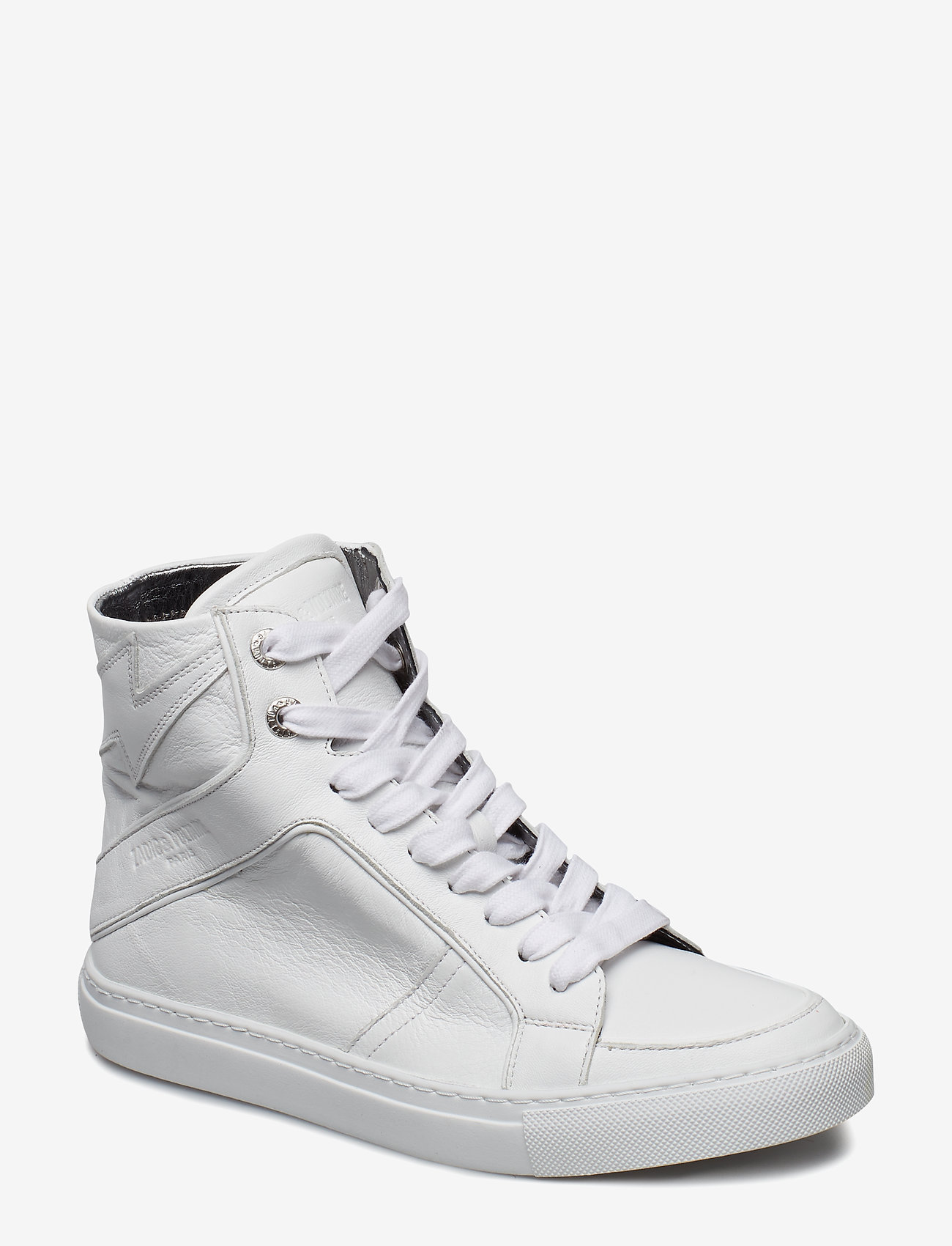 Zadig & Voltaire - ZV1747 HIGH FLASH SHOES - høje sneakers - white - 0