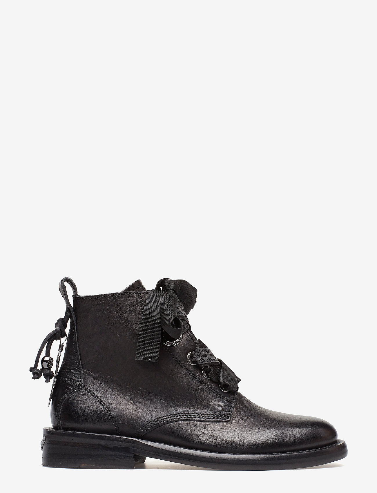 Zadig & Voltaire - LAUREEN ROMA SHOES - flade ankelstøvler - black - 1