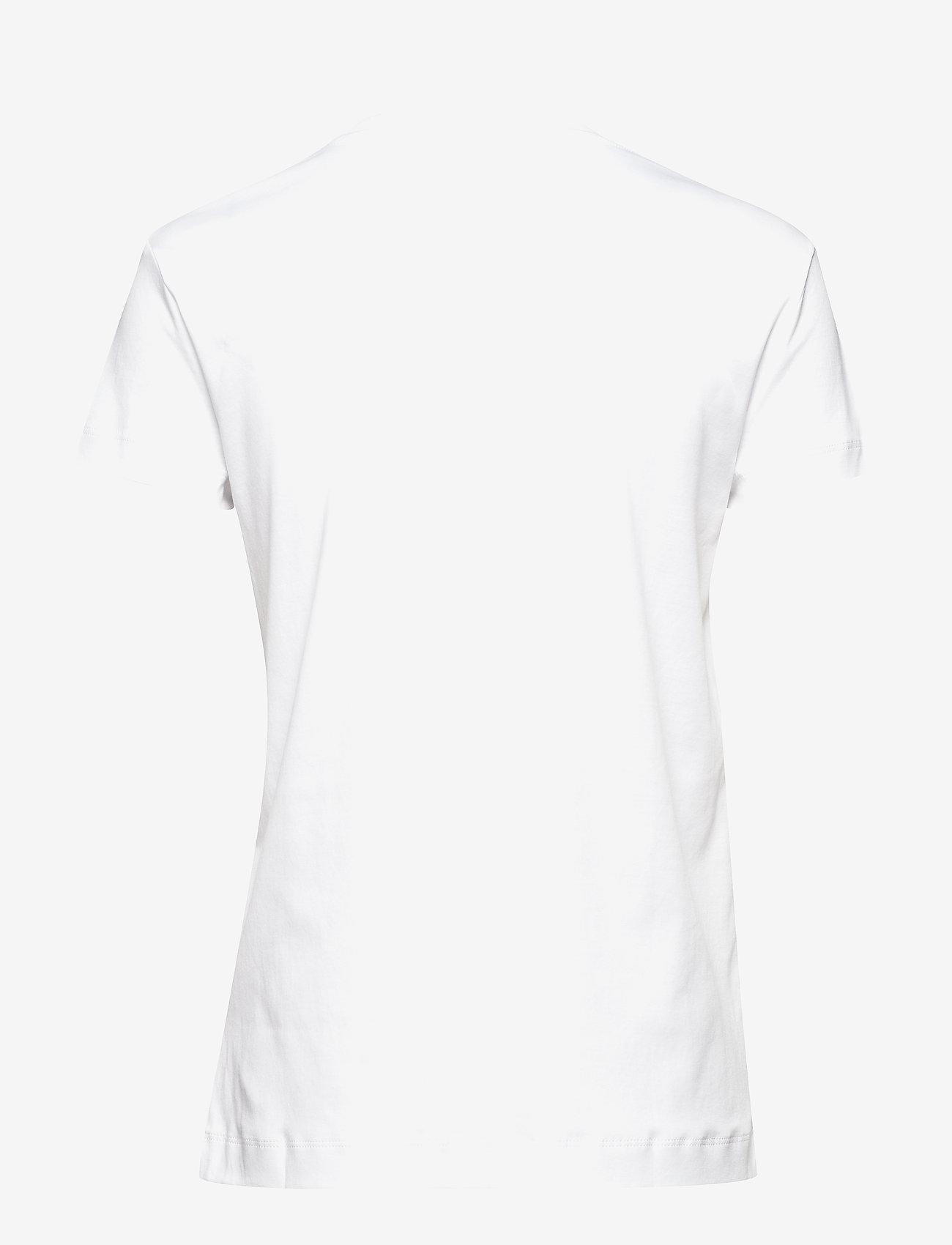 Zadig & Voltaire - WALK BLASON PERM COTTON T-SHIRT - t-shirts - white - 1