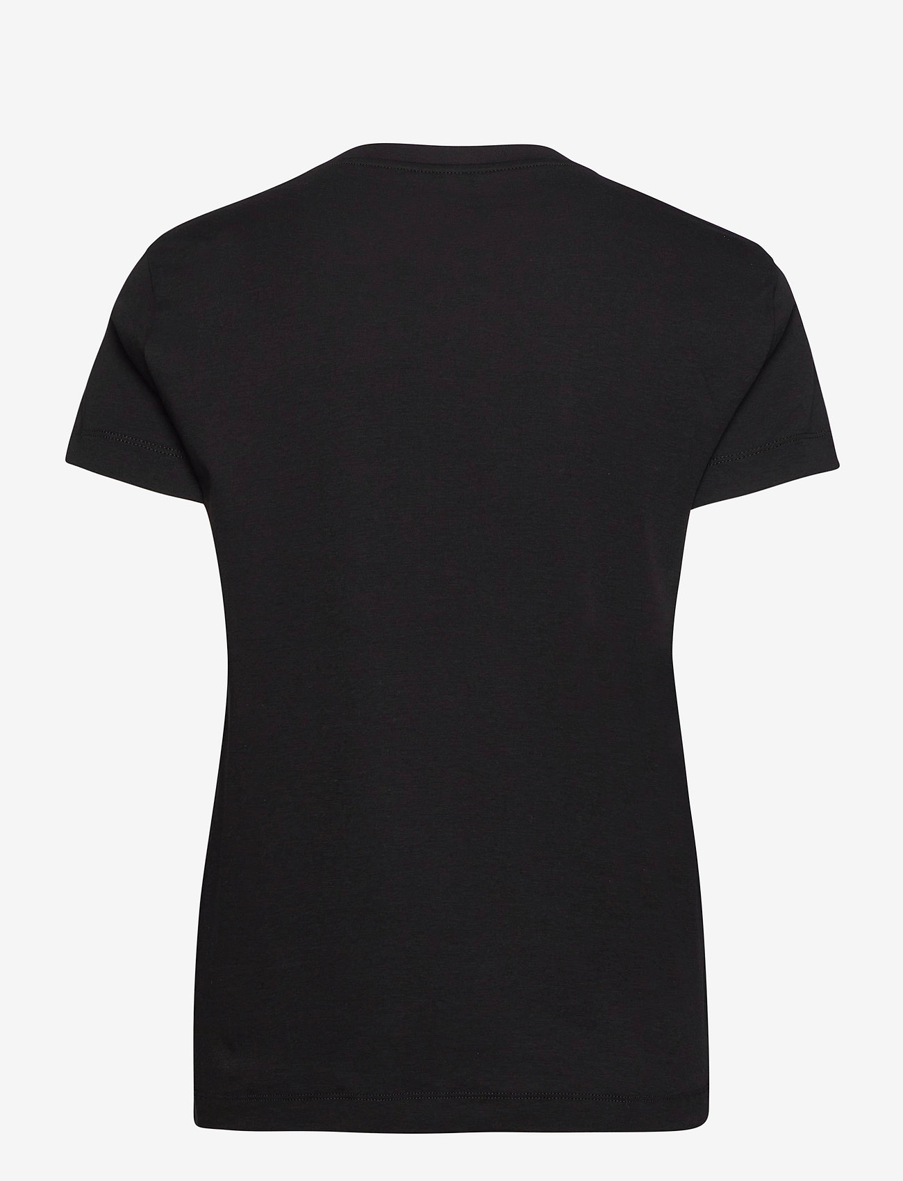 Zadig & Voltaire - WALK BLASON FLOCK PERM - t-shirts - black - 1
