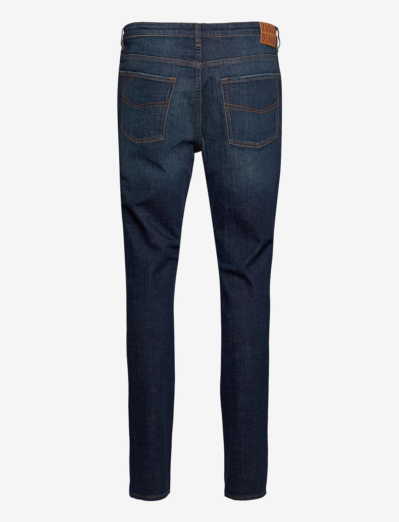 Zadig & Voltaire - DAVID ECO OLD BRUT - slim jeans - blue - 2