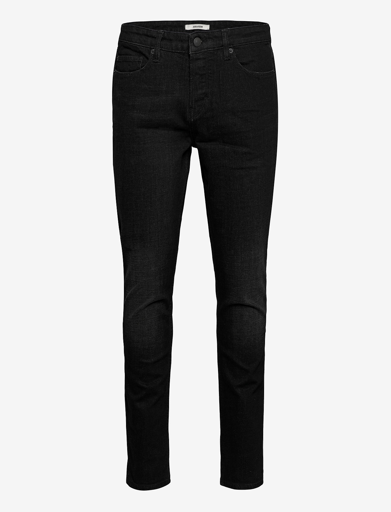 Zadig & Voltaire - DAVID ECO ANTHRA JEANS - slim jeans - grey - 0
