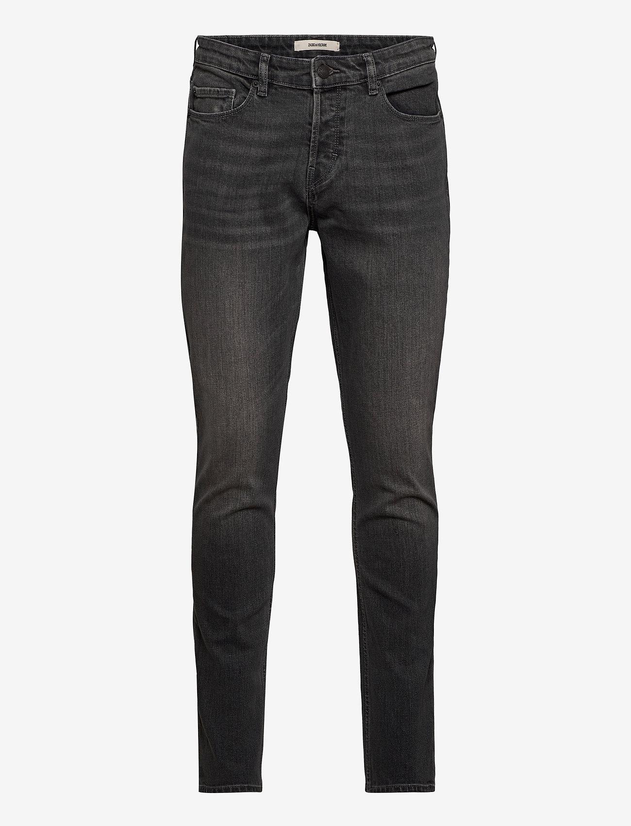 Zadig & Voltaire - DAVID ECO GRIS JEANS - slim jeans - grey - 1