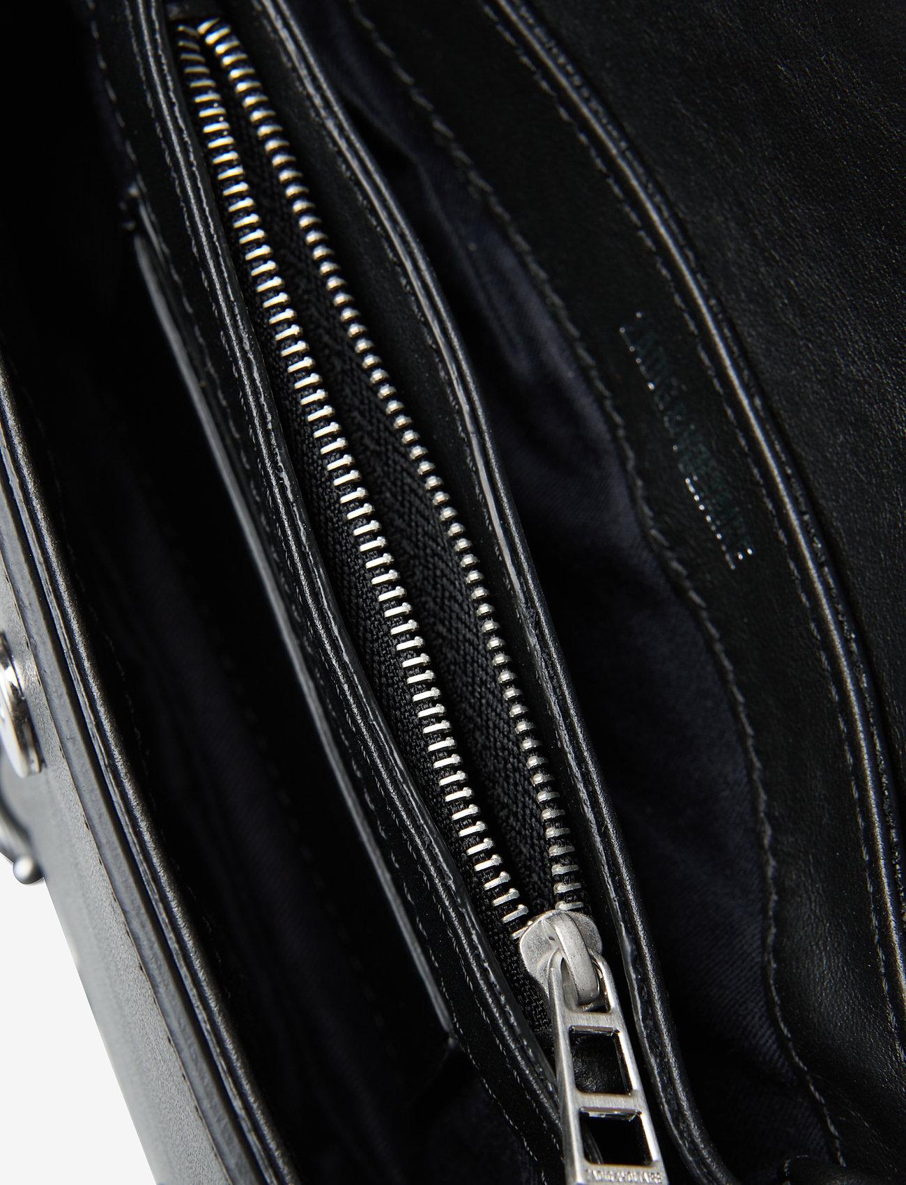 Zadig & Voltaire - KATE WALLET SMOOTH CALFSKIN - crossbody bags - black - 3