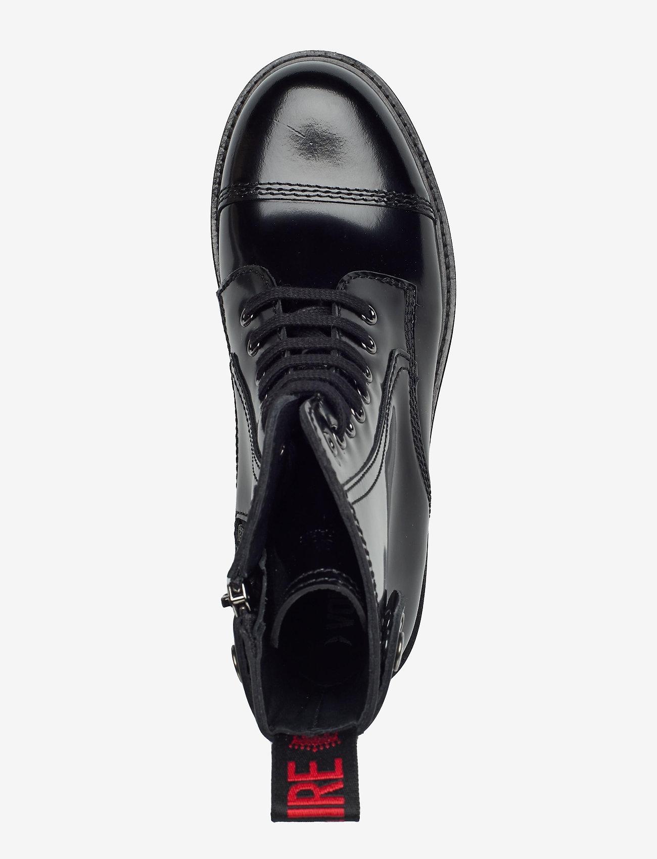 Zadig & Voltaire - MORISSON GLOSSY - flade ankelstøvler - black - 3