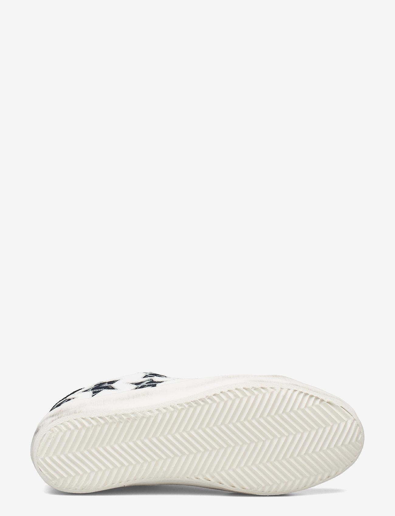 Zadig & Voltaire - ZADIG USED STARS MONOGRAM - lave sneakers - blanc acier - 4