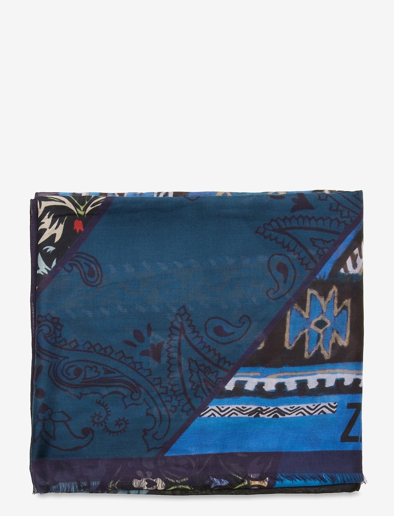 Zadig & Voltaire - MAXY PATCHWORK - accessories - azure - 1