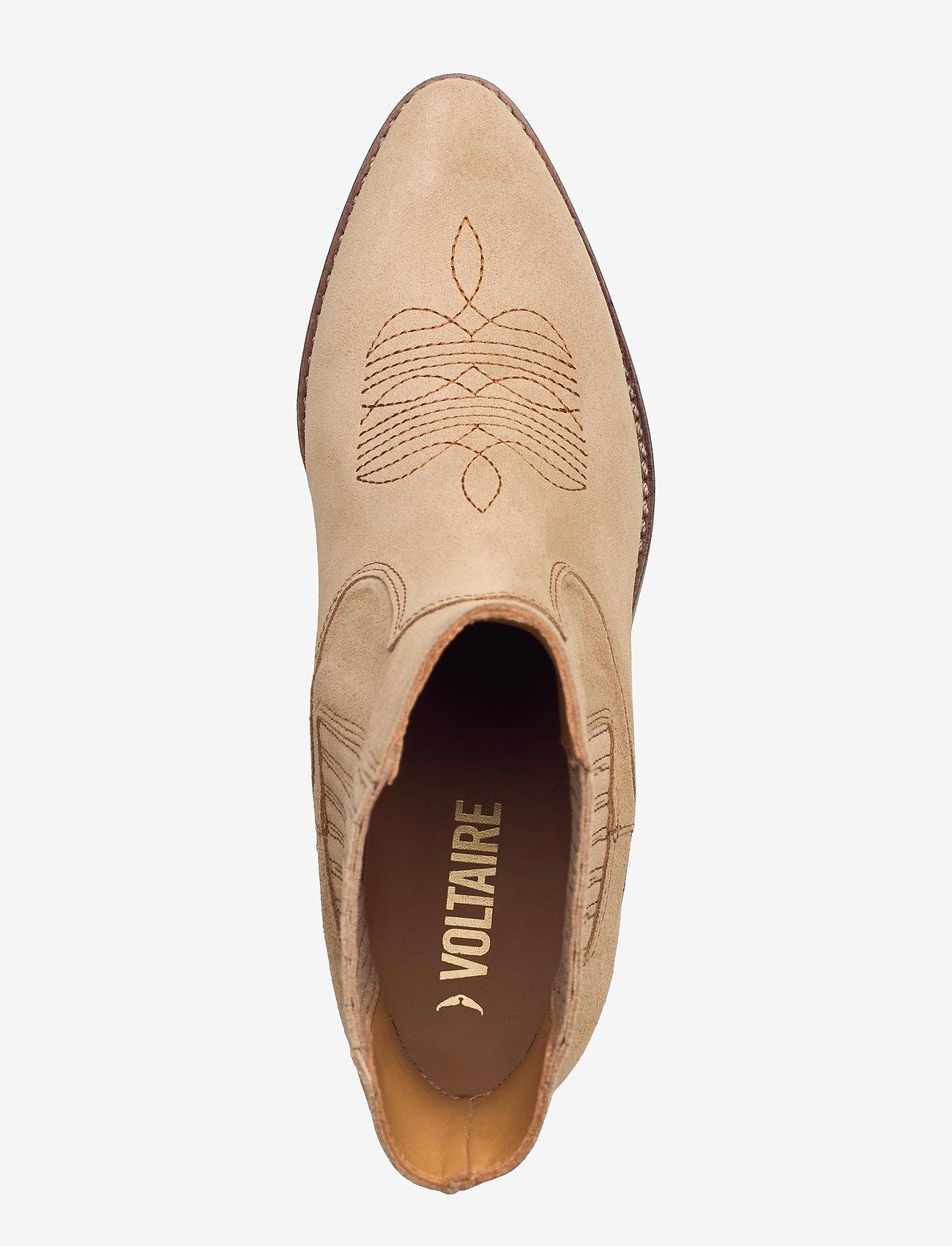 Zadig & Voltaire - TYLER SUEDE ELASTIC - ankelstøvler med hæl - down - 3