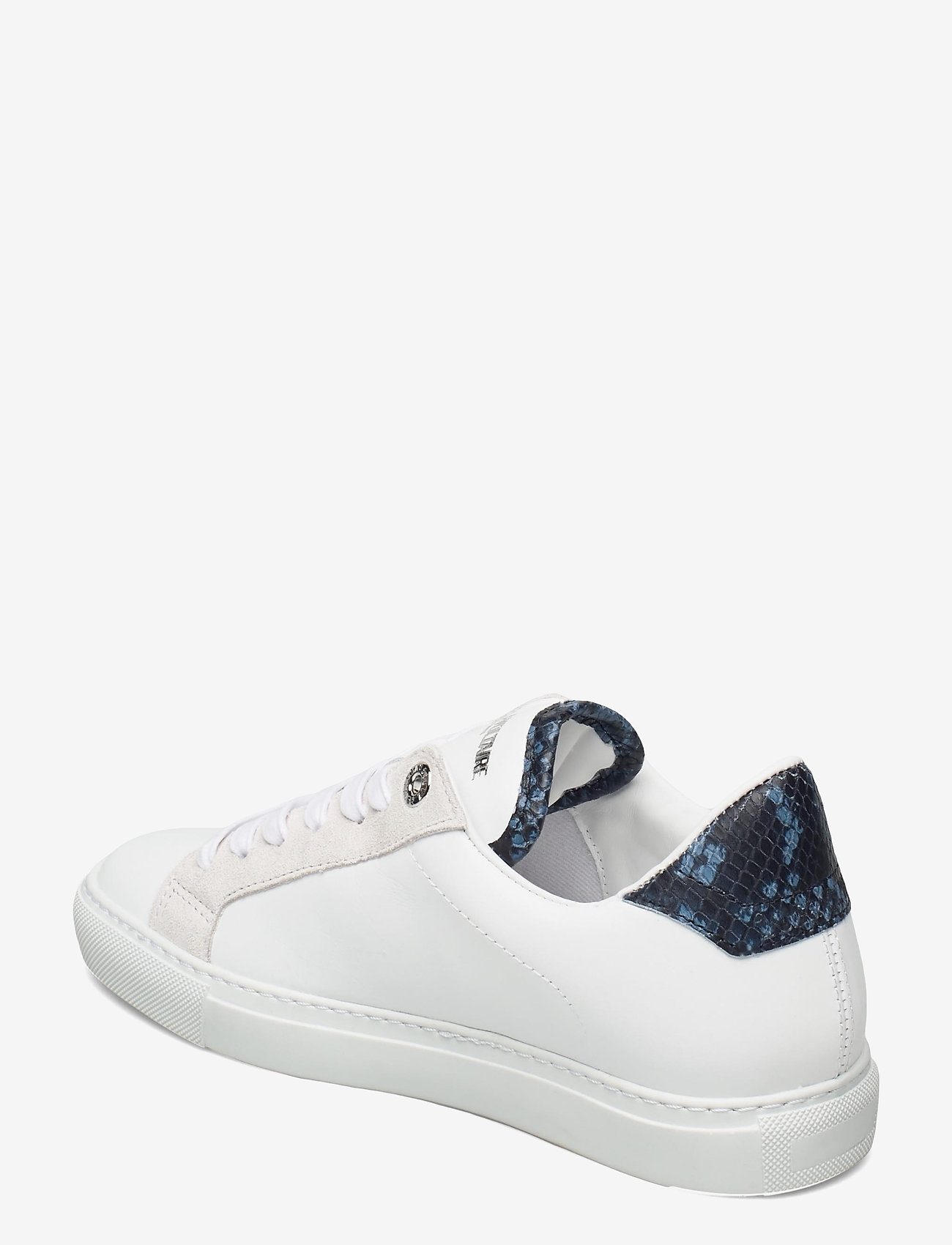 Zadig & Voltaire - ZV1747 WILD + SMOOTH CALFSKIN - lave sneakers - blanc deep - 2