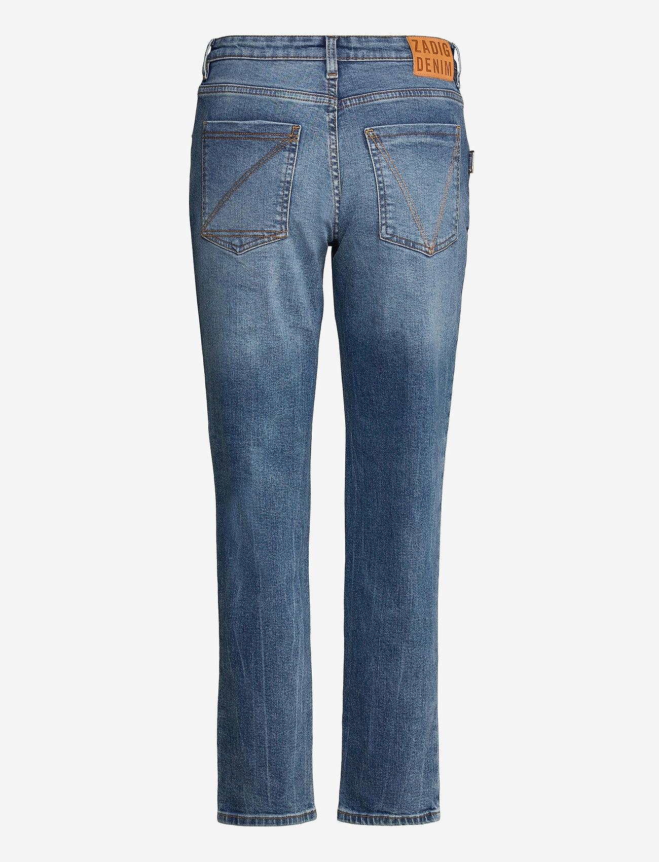 Zadig & Voltaire - MAMMA DENIM ECO LIGHT DENIM - straight jeans - light blue - 2