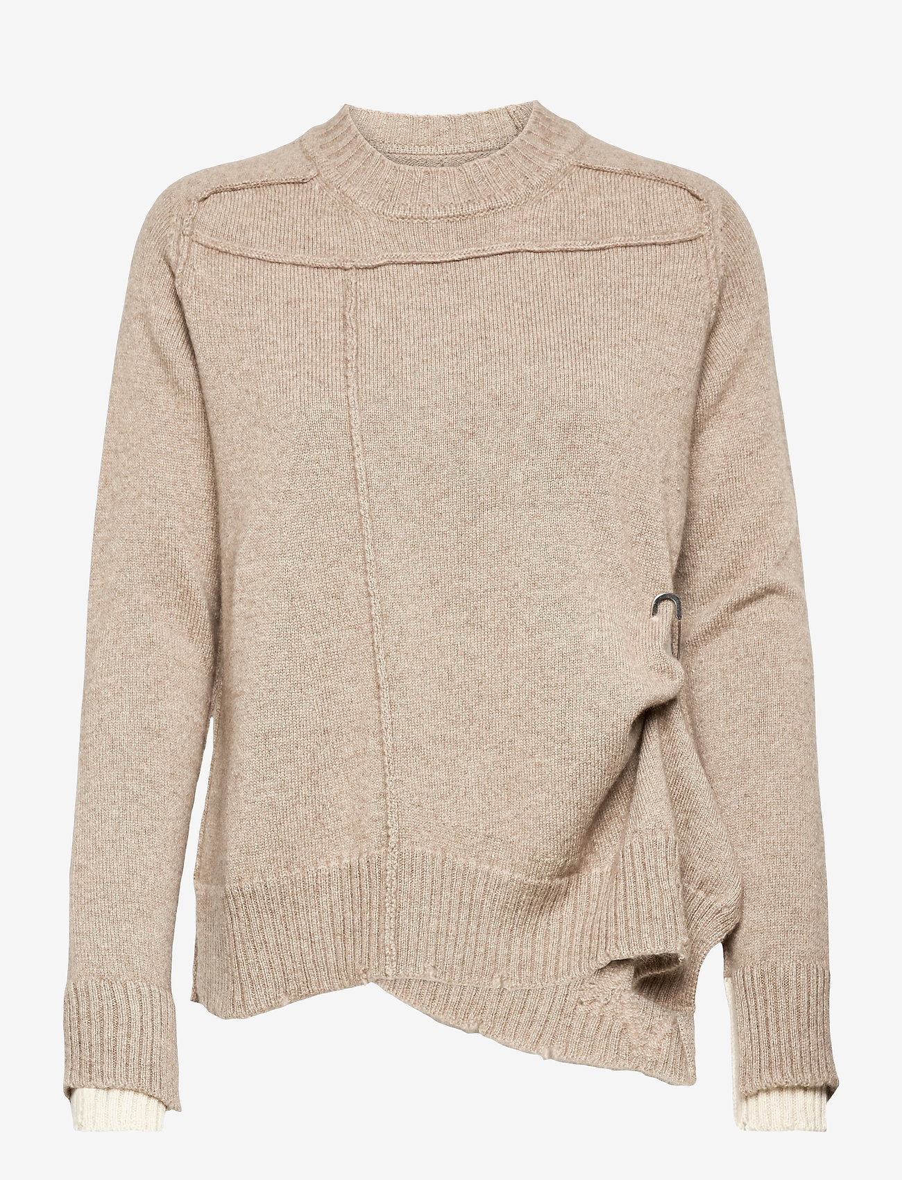 Zadig & Voltaire - KEITH WS UNDYED PULL - trøjer - oat - 0