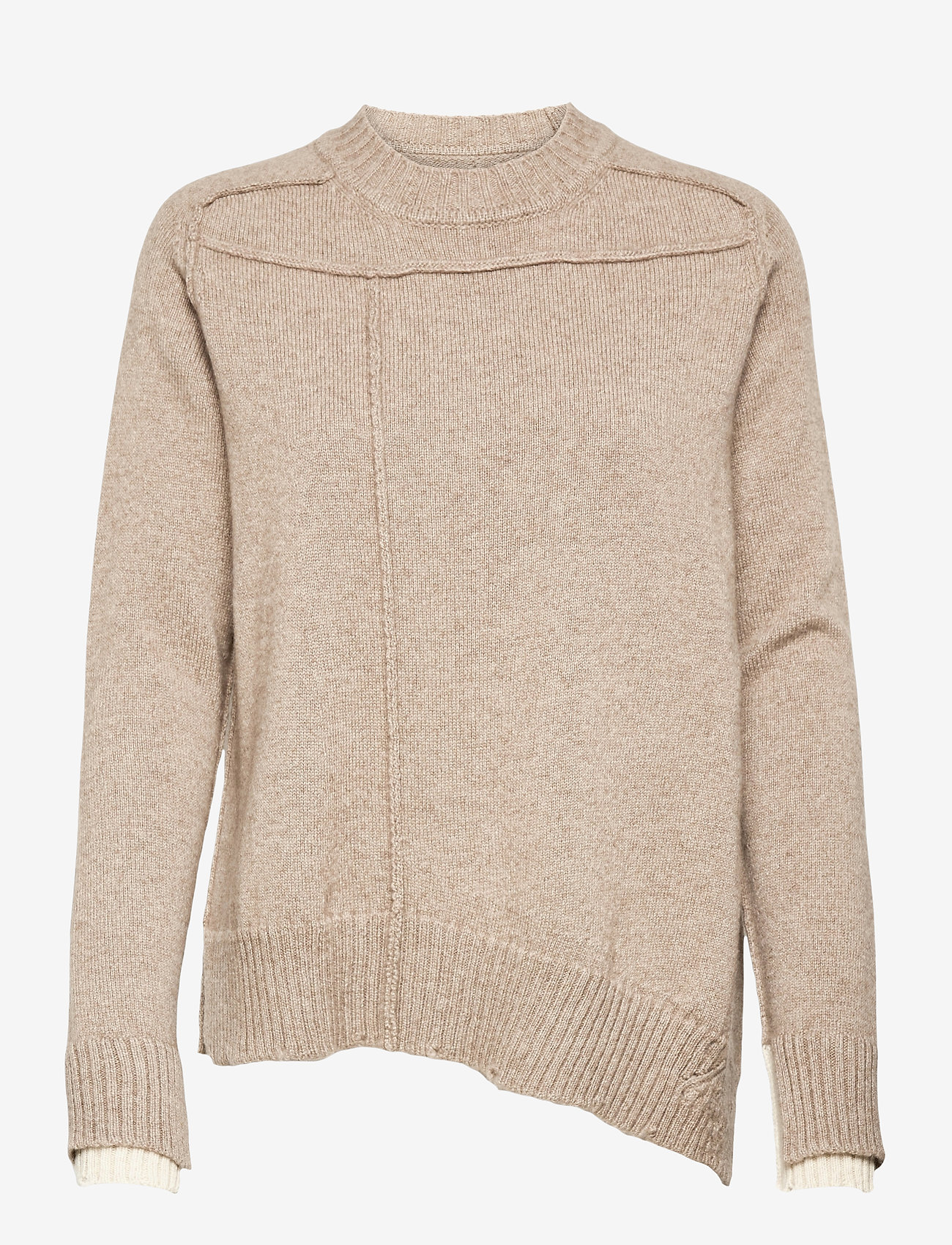Zadig & Voltaire - KEITH WS UNDYED PULL - trøjer - oat - 1