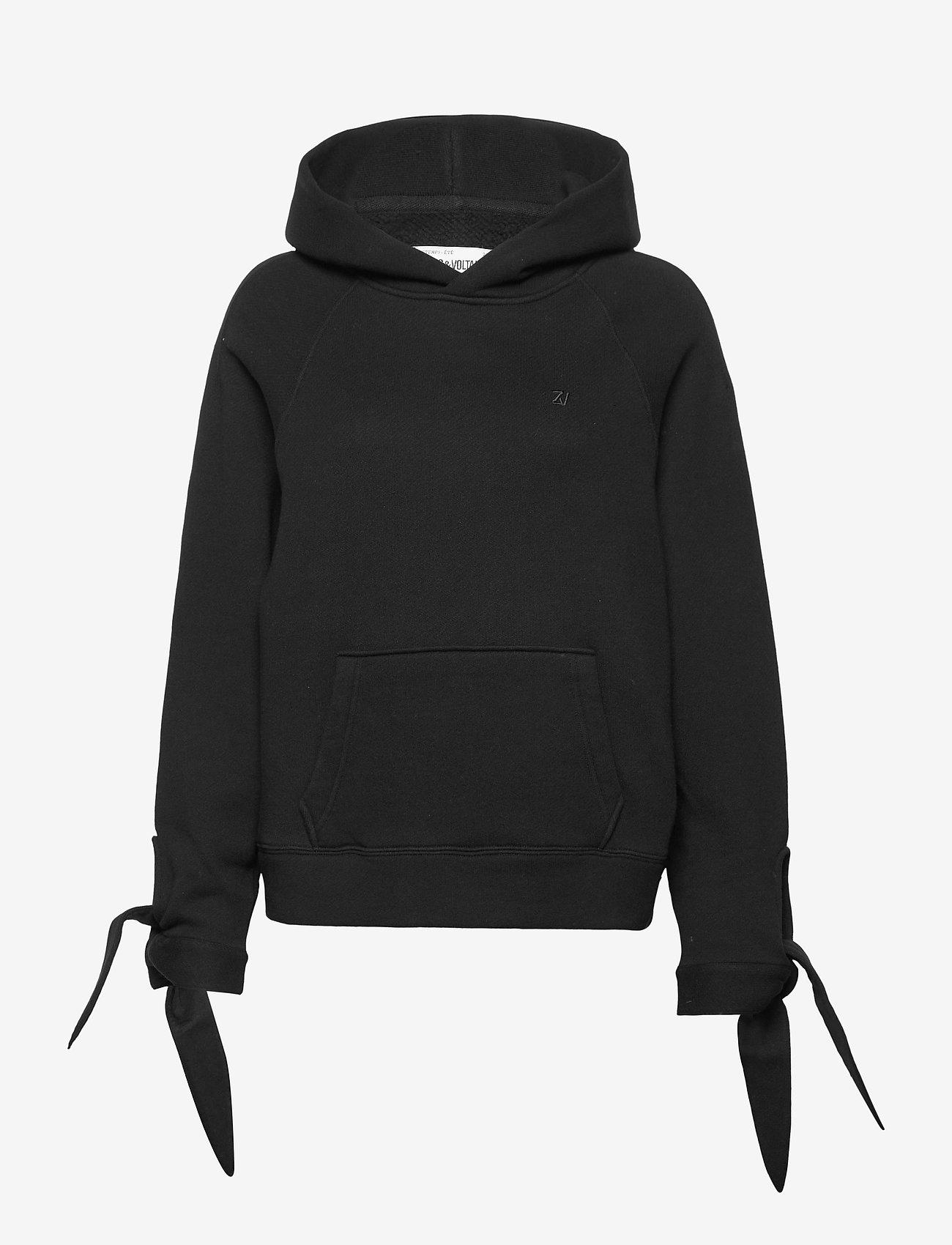 Zadig & Voltaire - EMY HOODIE CAPSULE - sweatshirts & hættetrøjer - black - 2