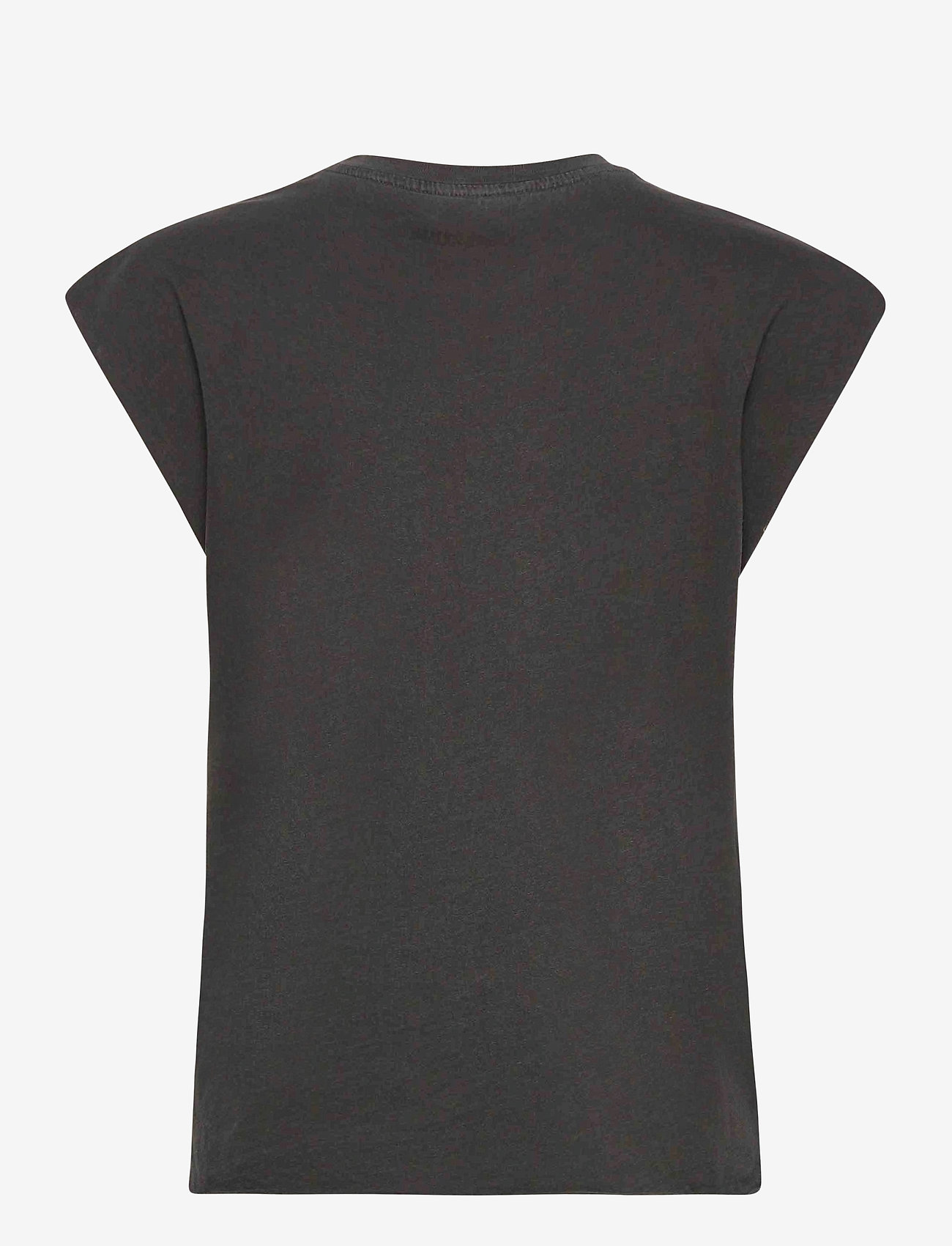 Zadig & Voltaire - WENY COMPO SKULL STRASS COTTON TANK TOP - t-shirts - carbon - 2