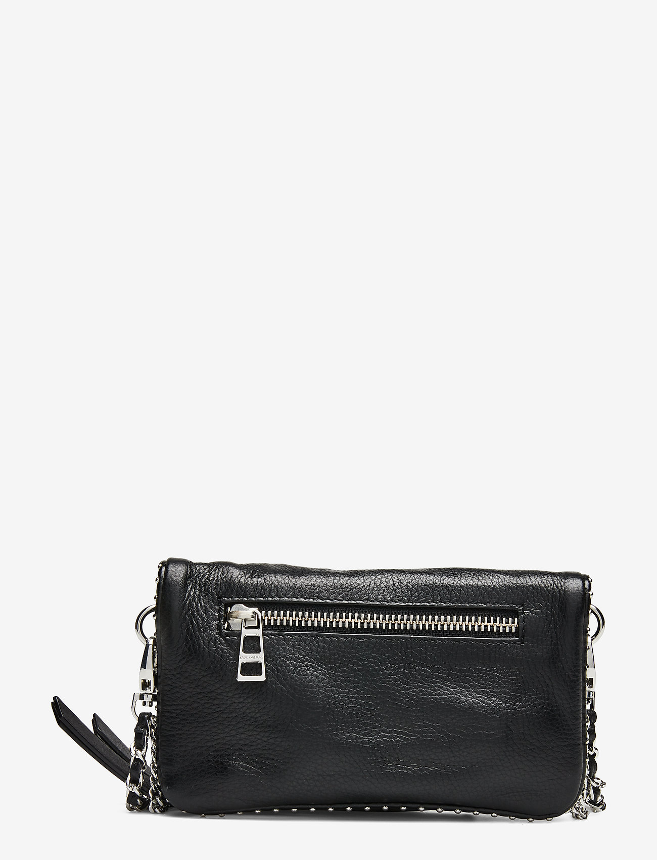 Zadig & Voltaire - ROCK NANO GRAINED LEATHER + STUDS - crossbody bags - black - 1