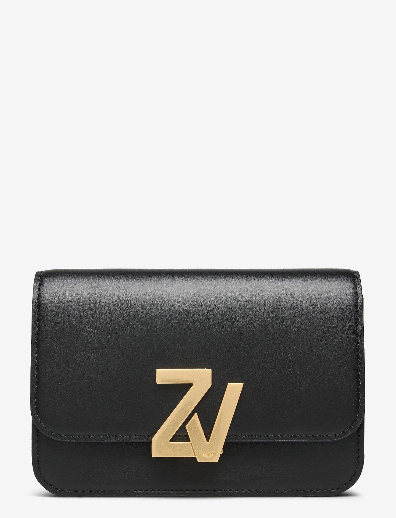 Zadig & Voltaire - ZV INITIALE BELT BAG CALFSKIN - skuldertasker - black - 0