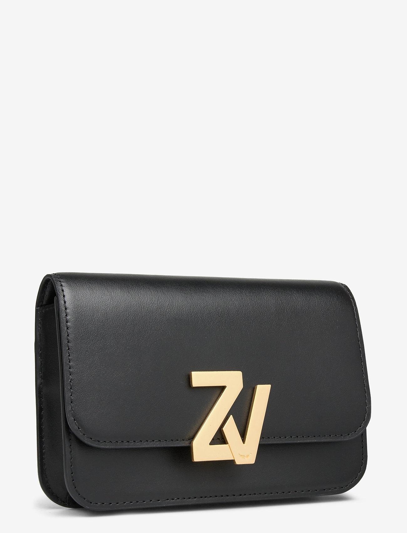 Zadig & Voltaire - ZV INITIALE BELT BAG CALFSKIN - skuldertasker - black - 2