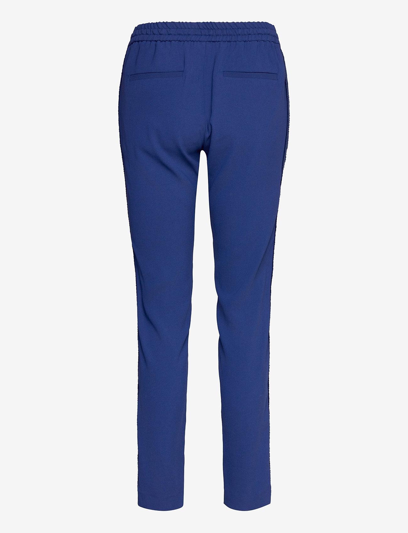 Zadig & Voltaire - PARONO CREPE PANTALON - slim fit bukser - blue - 1