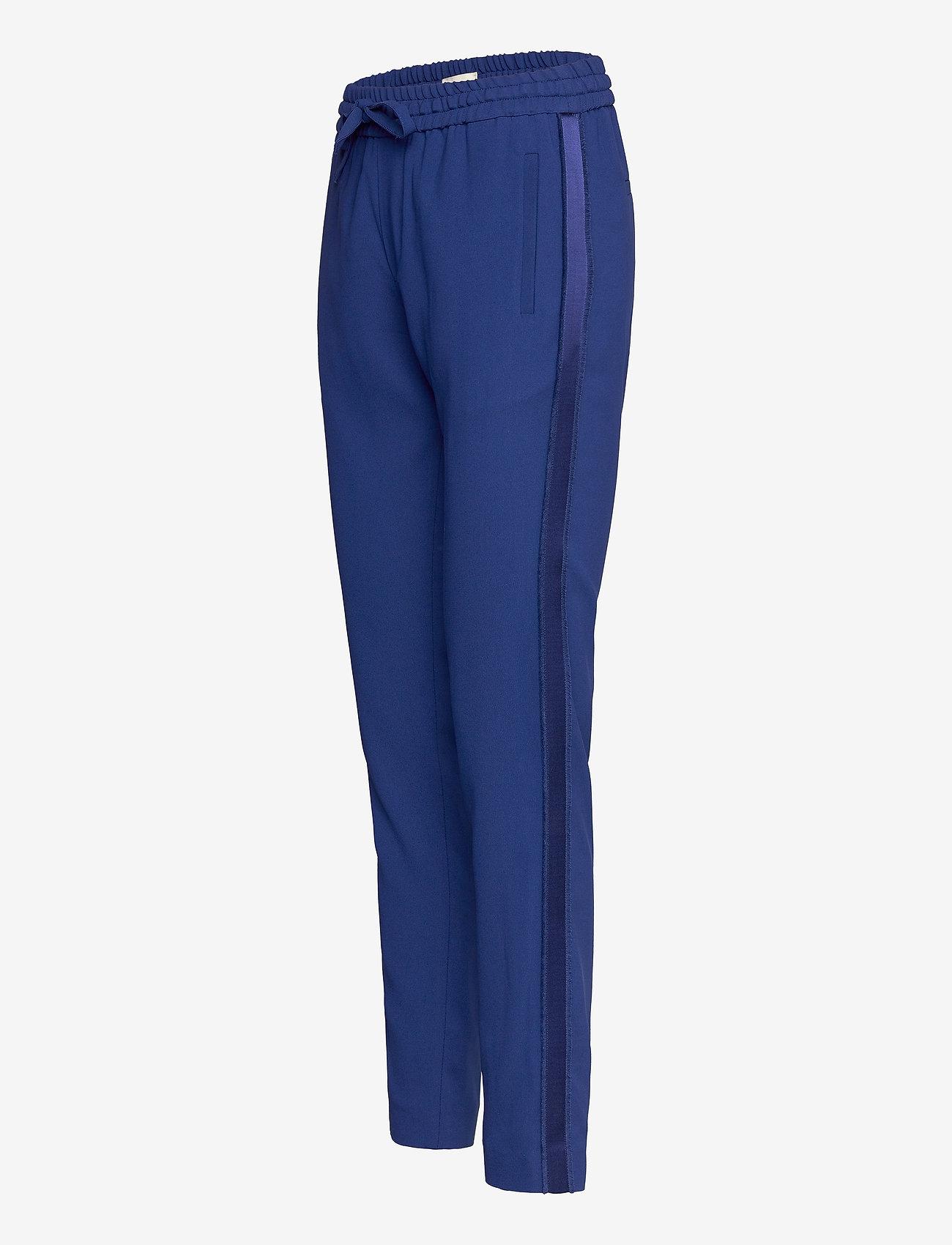 Zadig & Voltaire - PARONO CREPE PANTALON - slim fit bukser - blue - 3