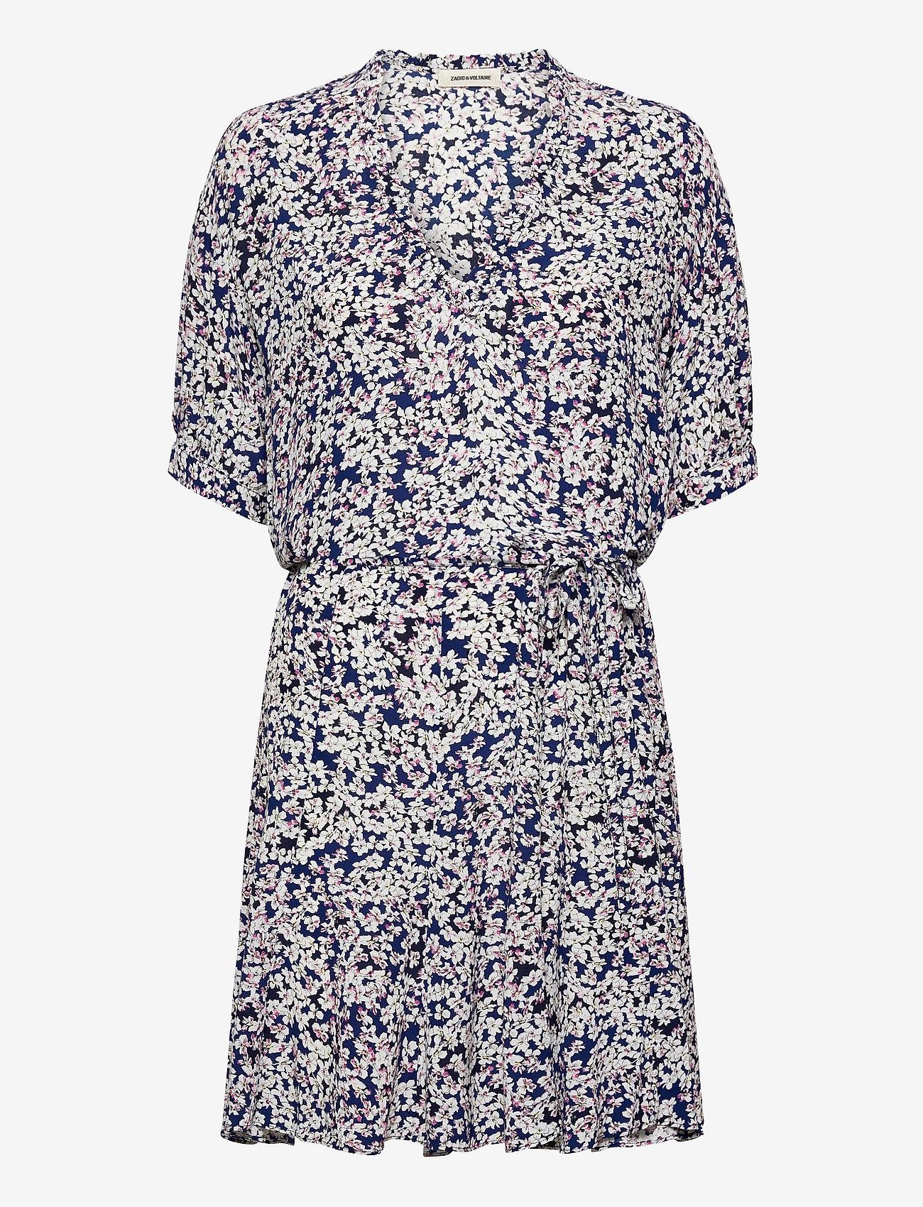 Zadig & Voltaire - REMOVE CDC PRINT BEGONIA DRESS - sommerkjoler - bleu de chine - 1