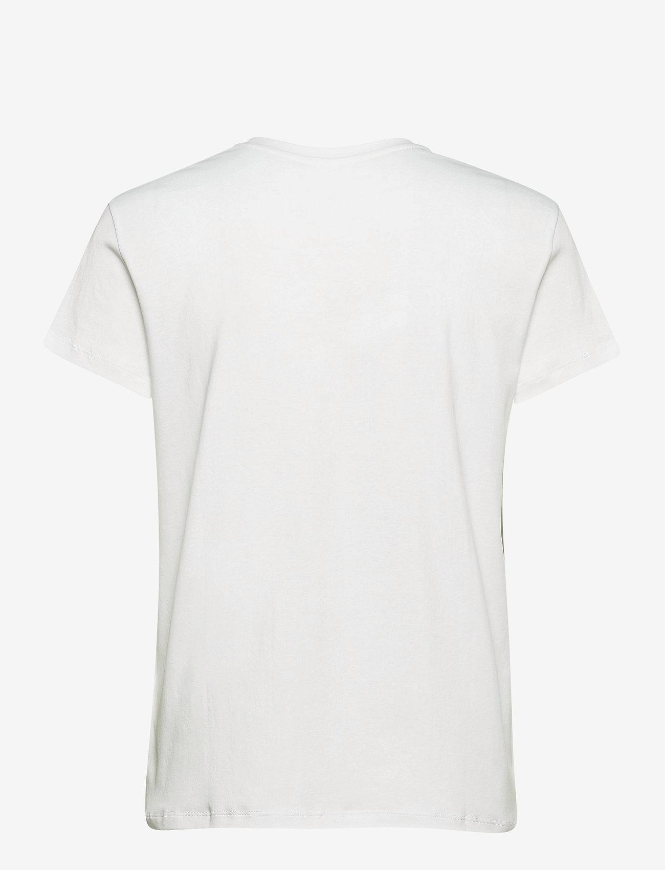 Zadig & Voltaire - ZOE BLASON STRASS T-SHIRT - t-shirts - white - 2