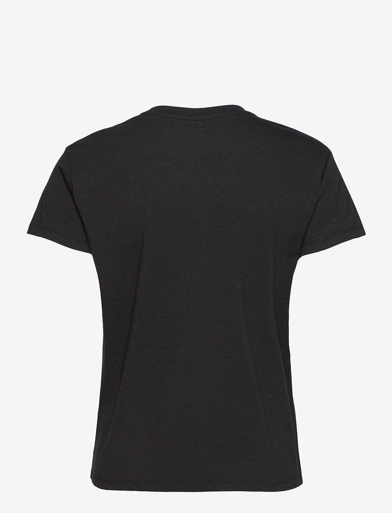Zadig & Voltaire - ZOE SMALL HEART ICONICS T-SHIRT - t-shirts - black - 2