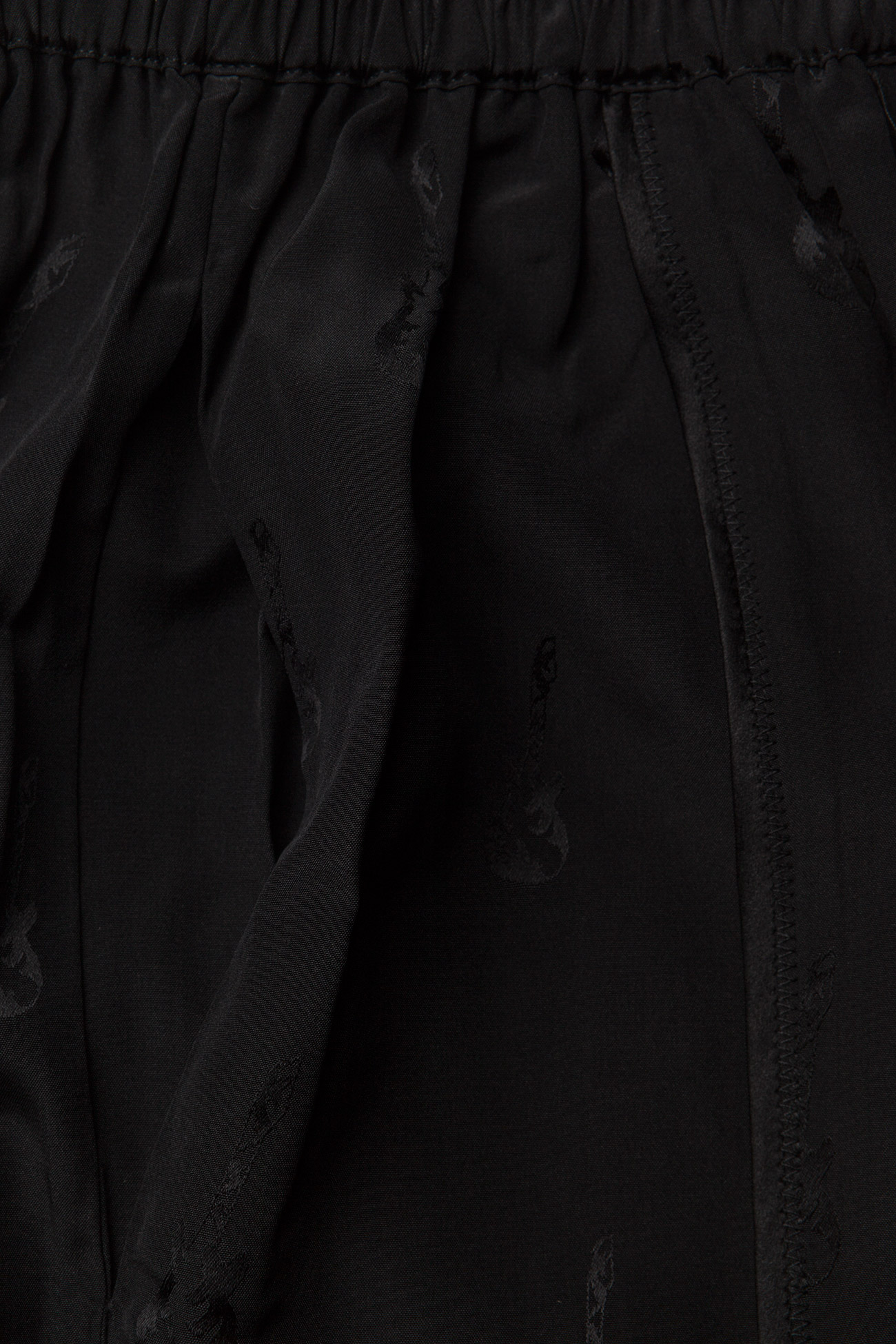 Zadig & Voltaire - JILLIAN JAC GUITAR PERM LONG SKIRT JACQUARD CDC - korte nederdele - black - 2