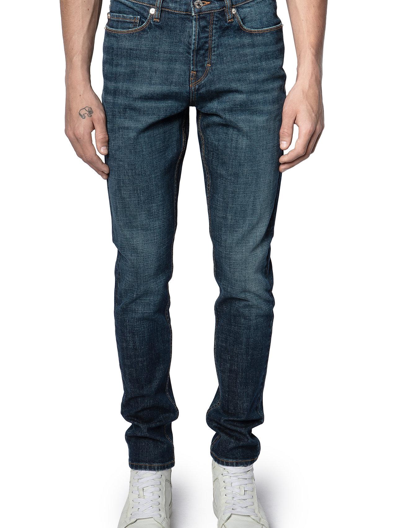Zadig & Voltaire - DAVID ECO OLD BRUT - slim jeans - blue - 0