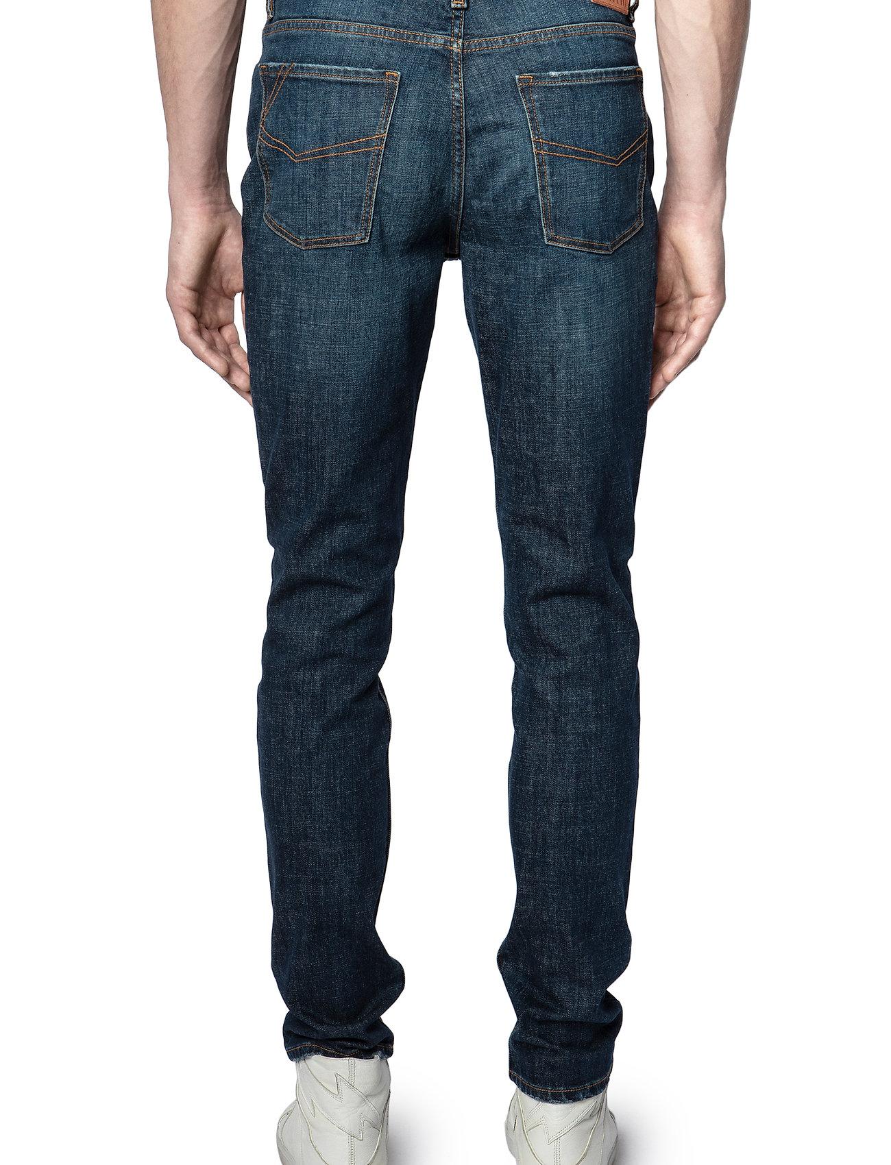 Zadig & Voltaire - DAVID ECO OLD BRUT - slim jeans - blue - 3