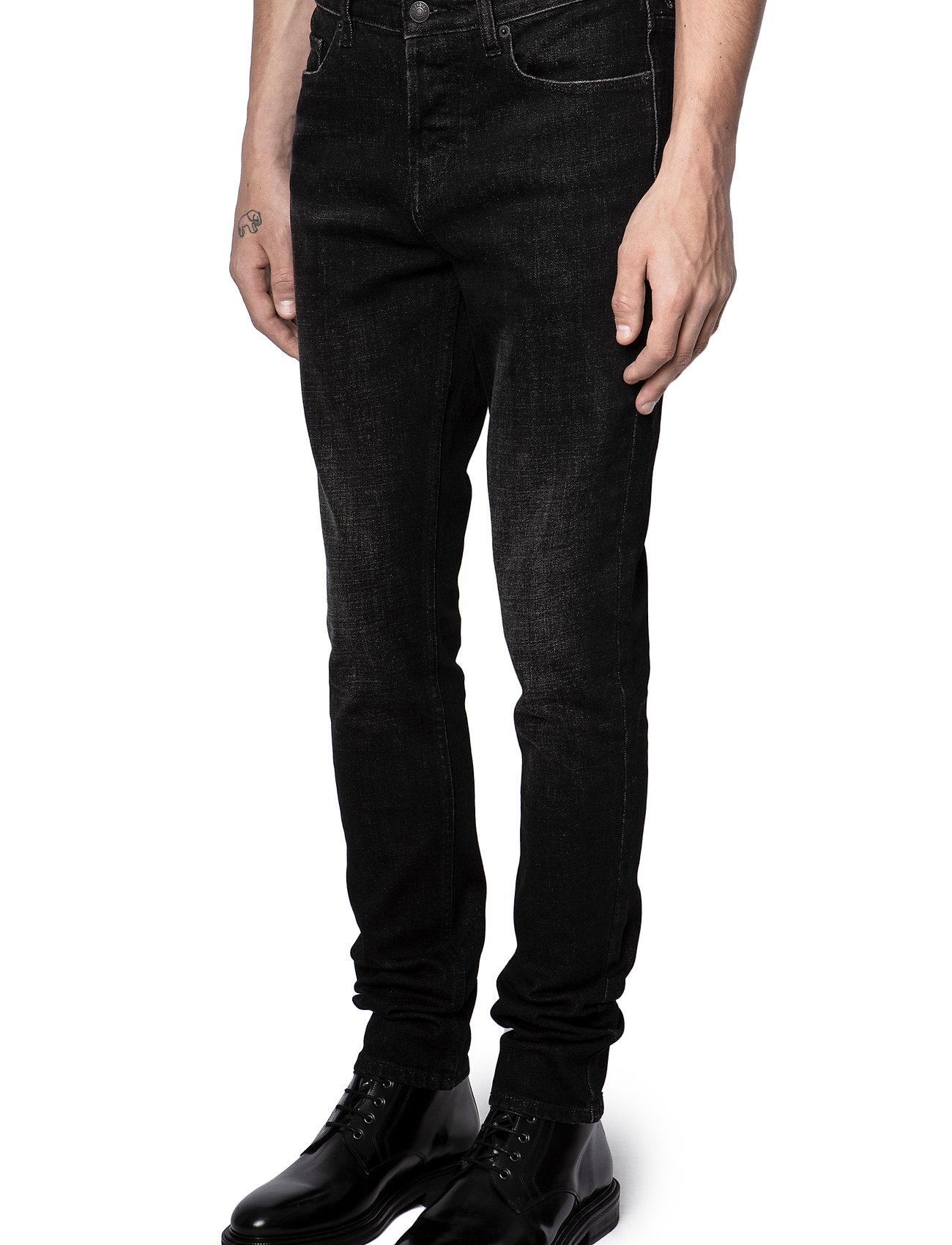 Zadig & Voltaire - DAVID ECO ANTHRA JEANS - slim jeans - grey - 7