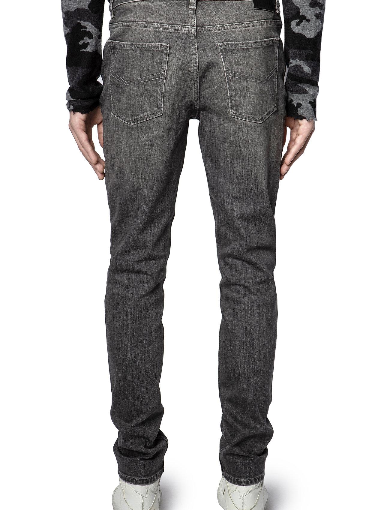 Zadig & Voltaire - DAVID ECO GRIS JEANS - slim jeans - grey - 5