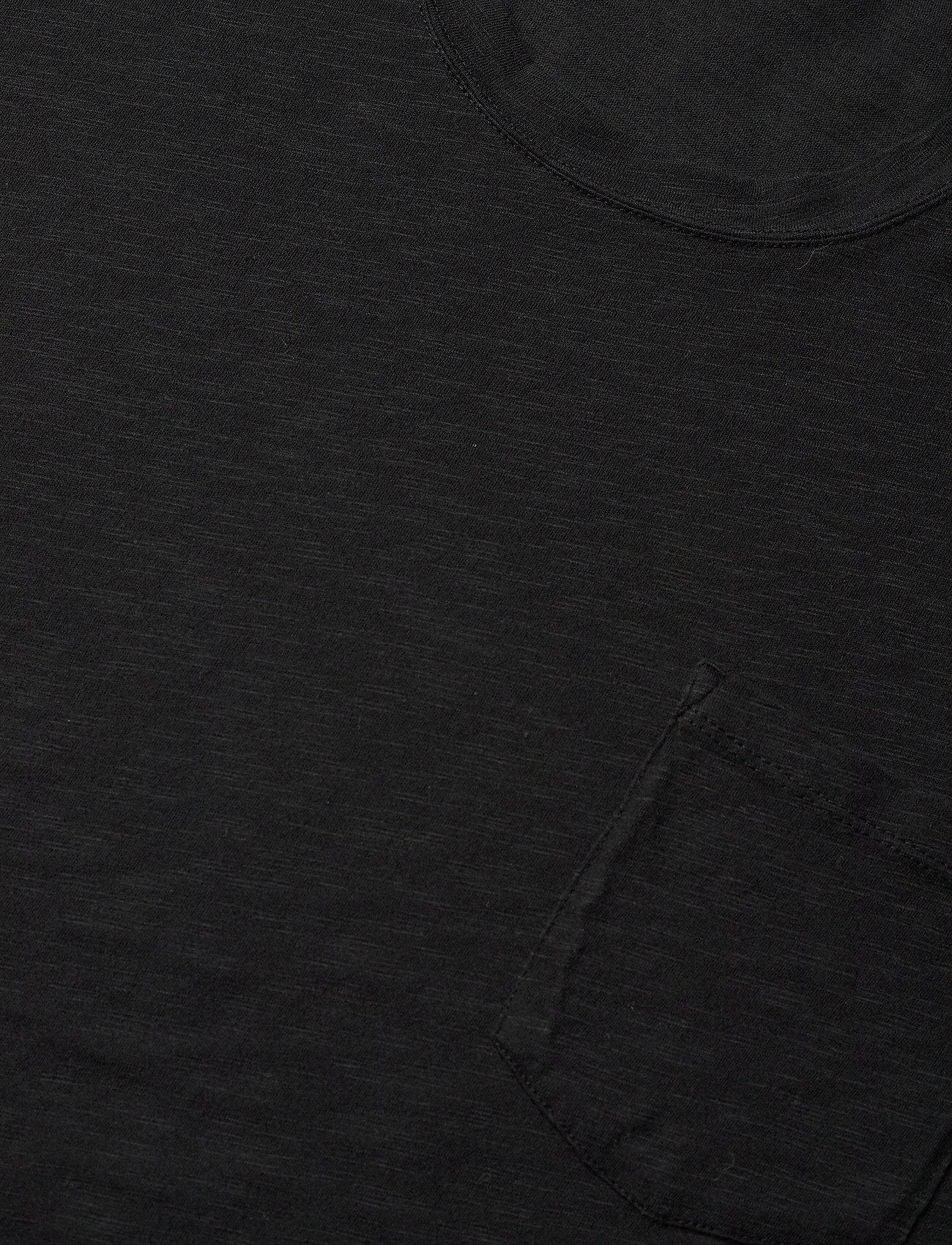Zadig & Voltaire - STOCKHOLM COTTON SLUB - basic t-shirts - black - 3